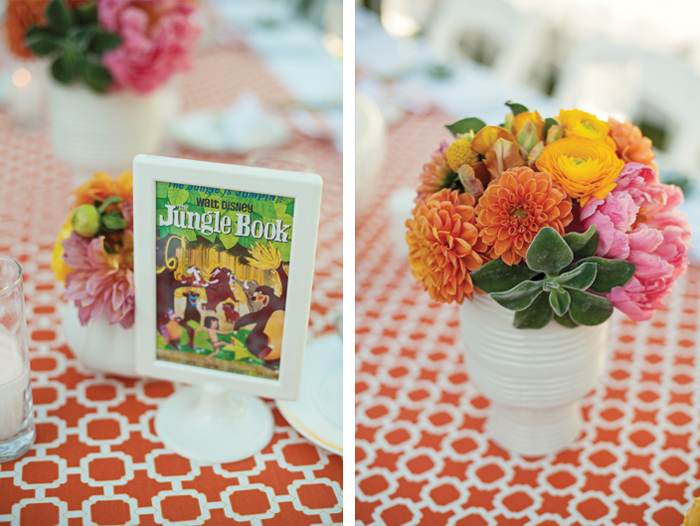 Amberly+Scott-Parker-Palm-Springs-Table-Table-Sign-Dahlias-Peonies-Orange-White