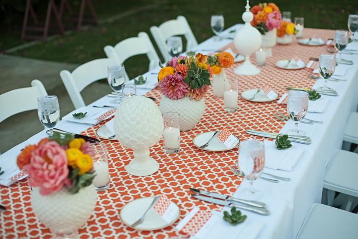 Amberly+Scott-Parker-Palm-Springs-Wedding-Table-Decor-Orange-White