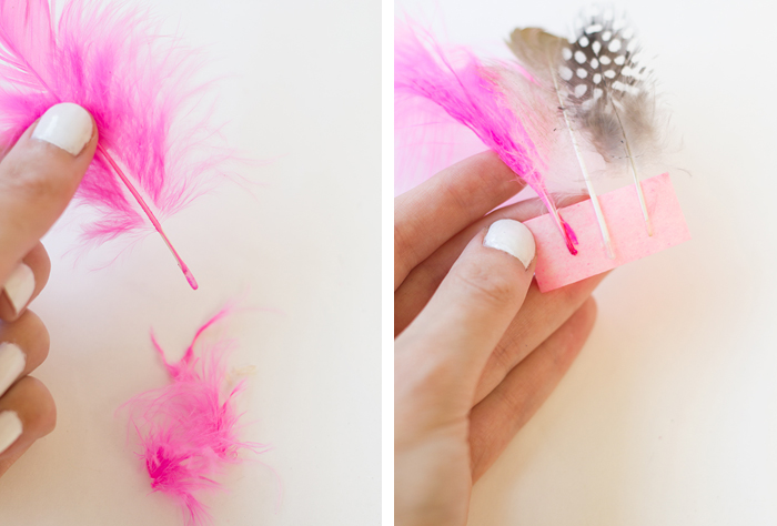 DIY-Feather-Drink-Stirrers-Steps2and3