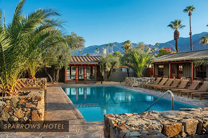 Distinctive new hotels hitting palm springs palm springs style for Design hotel palm springs