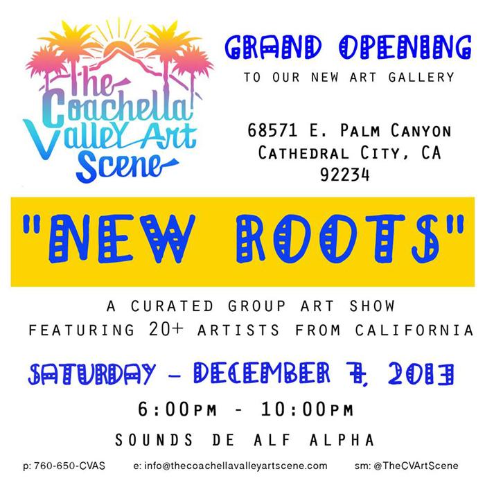 Coachella Valley Art Scene Gallery Opening in Palm Springs