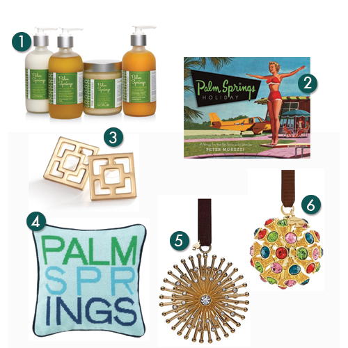 Palm Springs Holiday Gift Guide