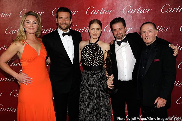 American Hustle cast - Palm Springs Film Festival 2014