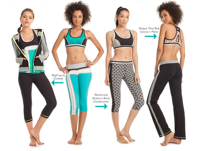 Trina Turk Activewear Recreation Line 2014
