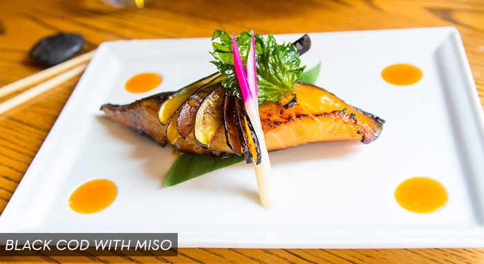 Nobu Black Cod with Miso - Nobu Indian Wells BNP Paribas