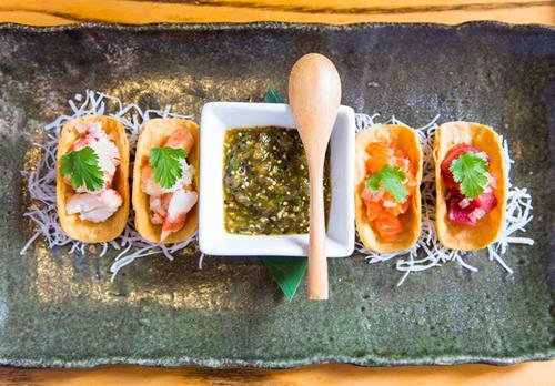 Nobu Tacos - Nobu Indian Wells