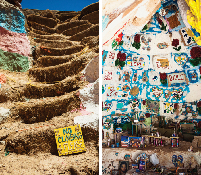 Salvation Mountain - copyright Ciera Holzenthal