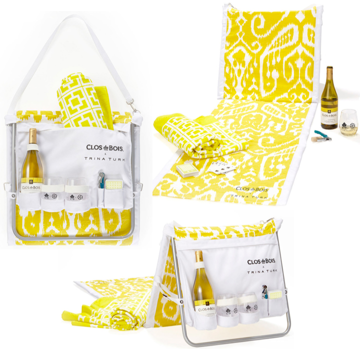 Trina Turk & Clos du Bois 'Clos on the Go' Wine Tote