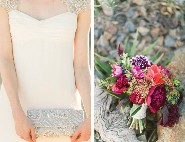 Jessica-Claire-Hotel-Lautner-Palm-Springs-Wedding-dress&bouquet