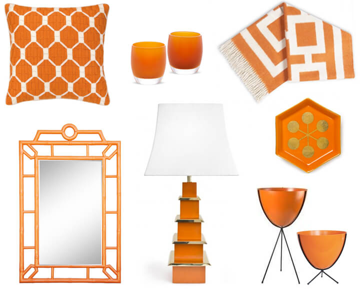 Palm Springs Style Decor: Orange is the New Black