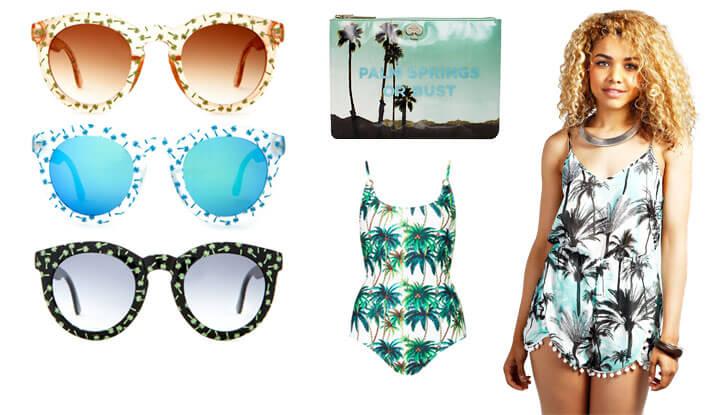 Palm Tree Print Fashion