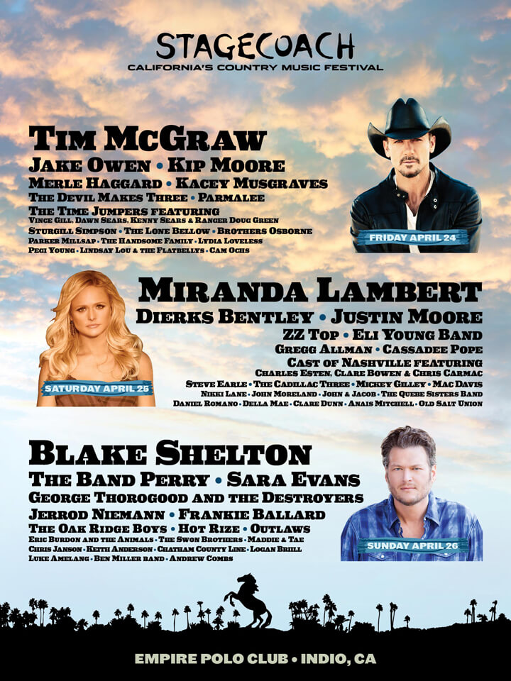 Stagecoach 2015 Lineup