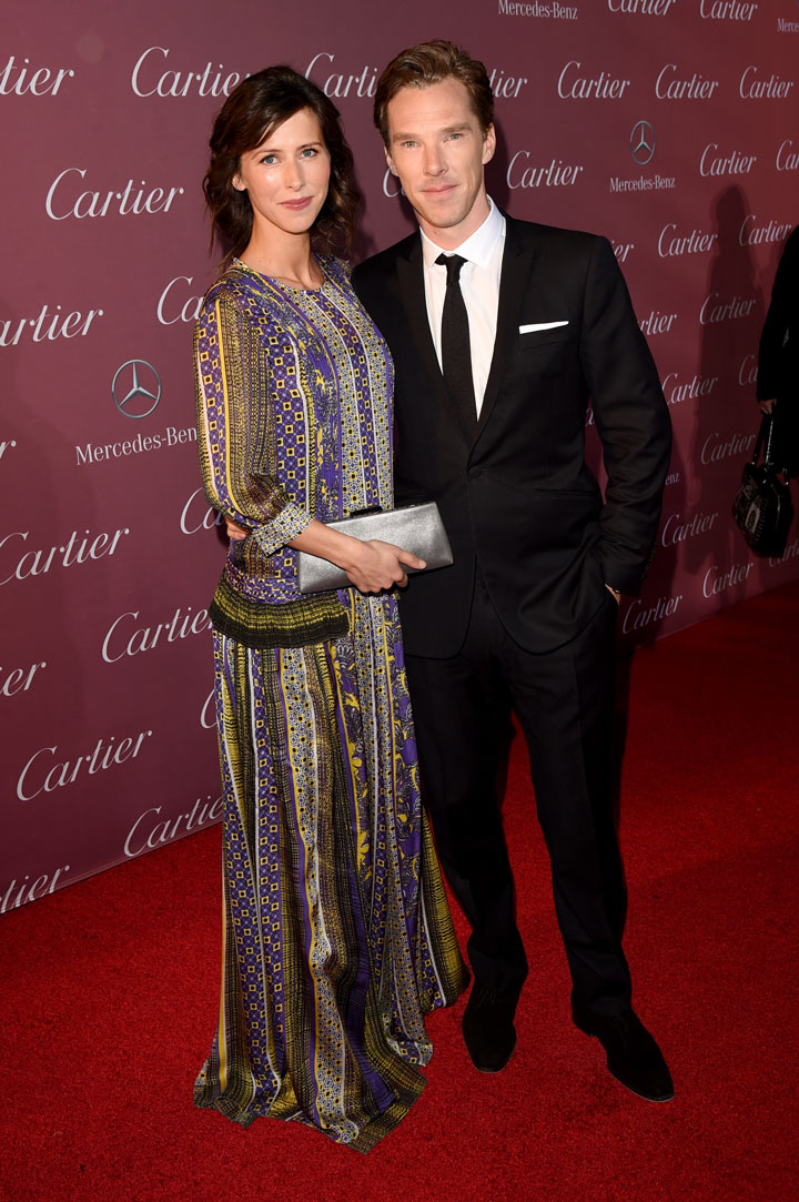 Palm Springs International Film Festival - Benedict Cumberbatch & Sophie Hunter