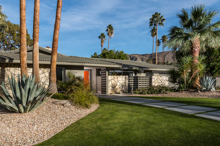 Palm Springs Home Tour Camino Real By Grace Home Palm Springs Style