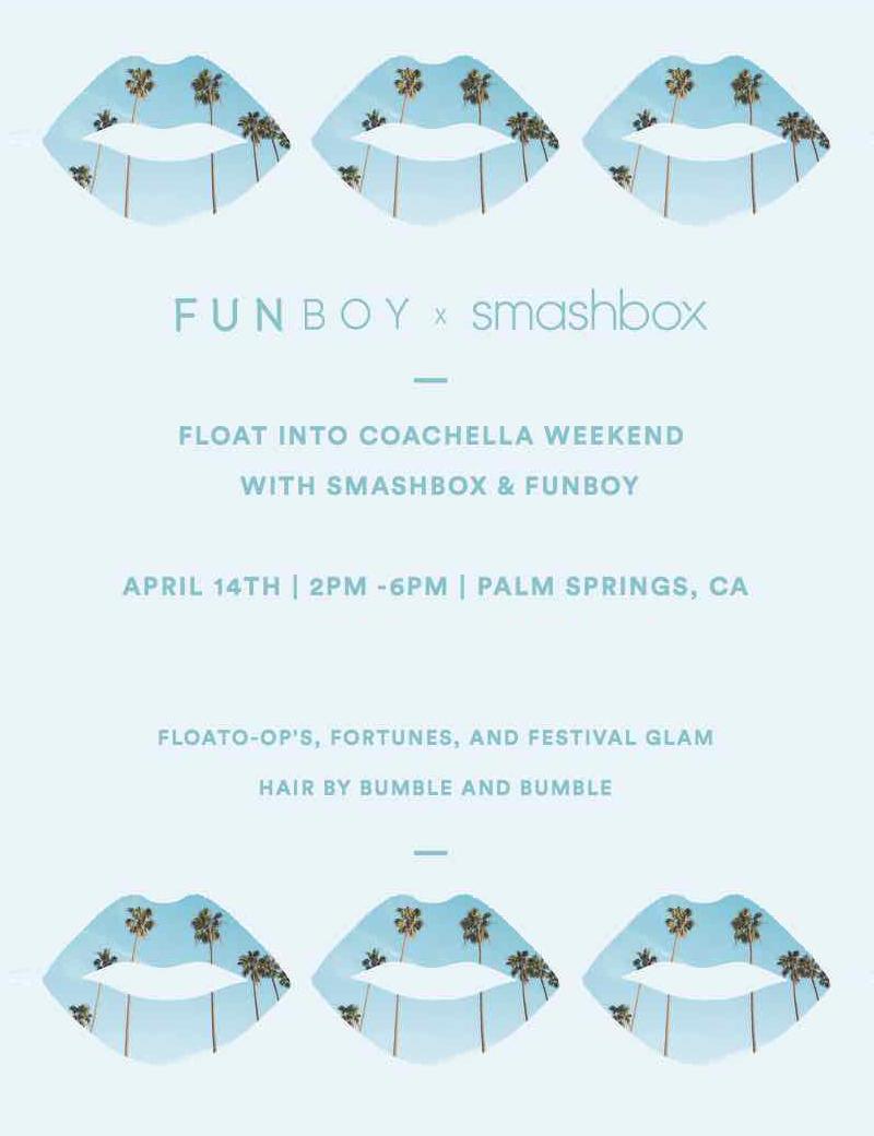 FUNBOX x SMASHBOX Invite