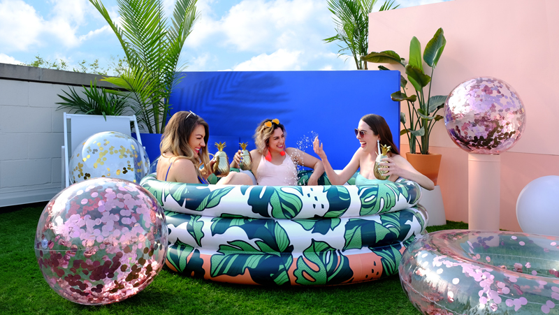 Minnidip Confetti Pool Floats Palm Springs Style