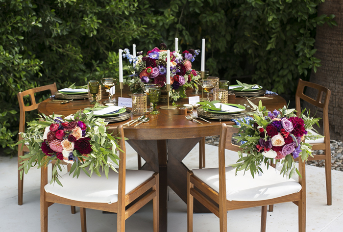 Mid-century Modern Palm Springs Wedding Inspiration