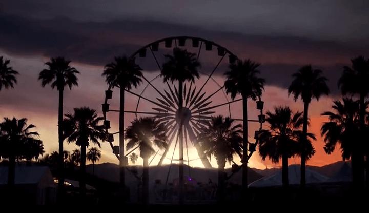 Coachella 2015 Desert Parallax